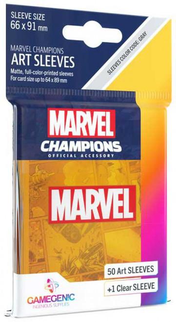 Marvel Champions LCG Marvel Orange Standard Card Sleeves