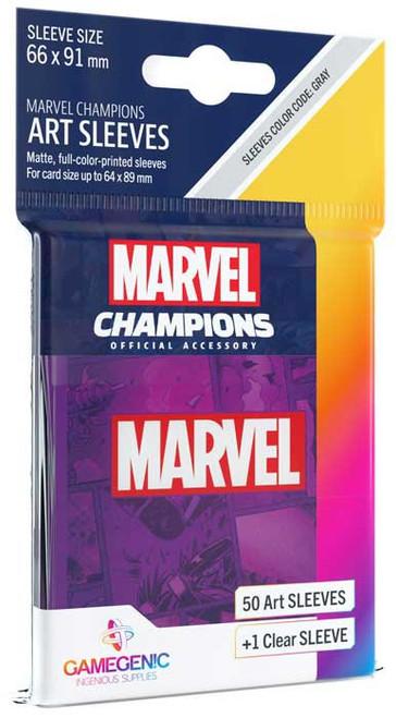 Marvel Champions LCG Marvel Purple Standard Card Sleeves