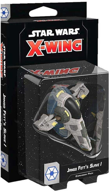 Star Wars X-Wing Miniatures Game Jango Fett's Slave I Expansion Pack [2nd Edition]