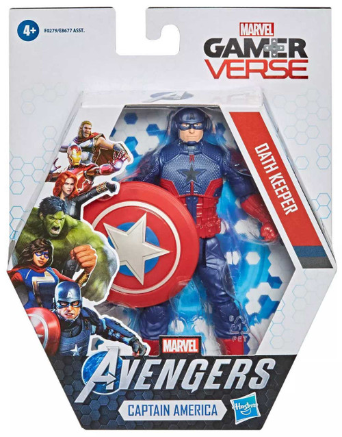 Marvel Avengers Gamerverse Captain America Action Figure [Oath Keeper] (Pre-Order ships January)