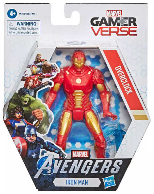 Marvel Avengers Gamerverse Iron Man Action Figure [Overclock]
