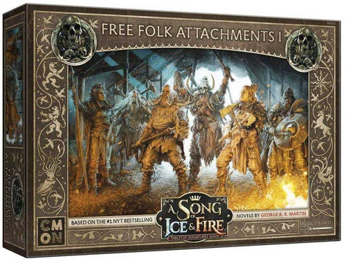 A Song of Ice & Fire Free Folk Attachments #1 Unit Box