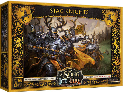 A Song of Ice & Fire Baratheon Stag Knights Unit Box