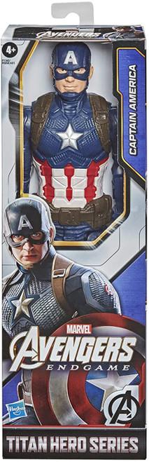 Marvel Avengers Titan Hero Series Captain America SR Action Figure (Pre-Order ships February)