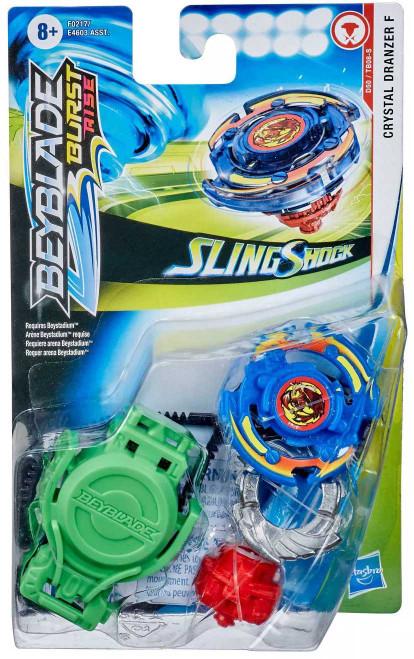 Beyblade Burst Turbo Slingshock Crystal Dranzer F Starter Pack (Pre-Order ships January)