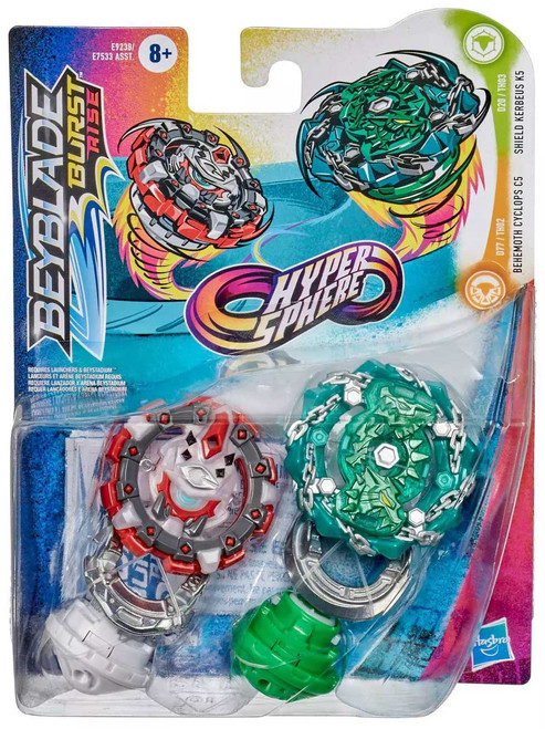 Beyblade Burst Rise Hypersphere Shield Kerbeus K5 & Behemoth Cyclops C5 Dual Pack (Pre-Order ships January)