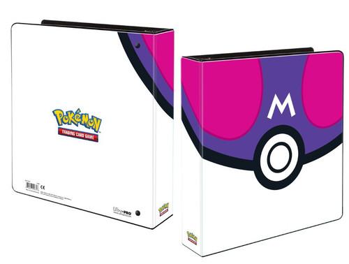 Ultra Pro Pokemon Trading Card Game Card Supplies Master Ball 2 Inch Album (Pre-Order ships April)