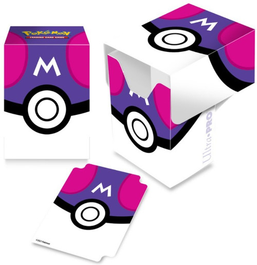 Ultra Pro Pokemon Trading Card Game Card Supplies Master Ball Deck Box (Pre-Order ships April)