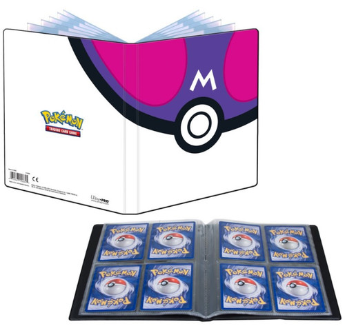 Ultra Pro Pokemon Trading Card Game Card Supplies Master Ball 4-Pocket Portfolio (Pre-Order ships April)