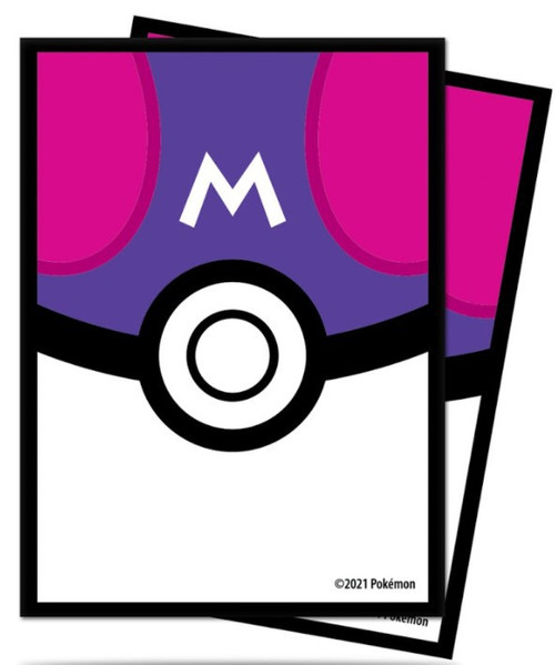 Ultra Pro Pokemon Trading Card Game Card Supplies Master Ball Card Sleeves Standard (Pre-Order ships April)
