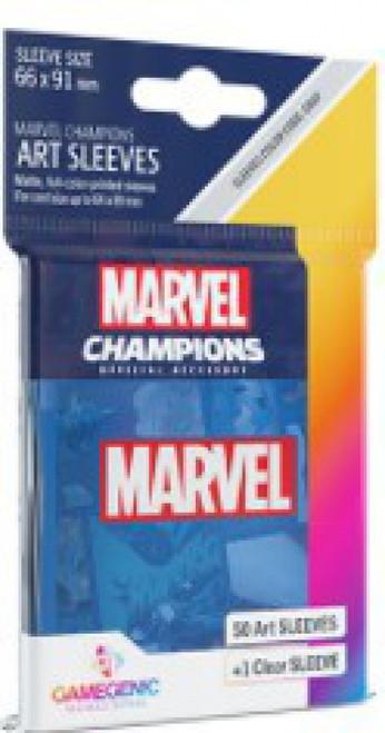 Marvel Champions LCG Marvel Blue Standard Card Sleeves