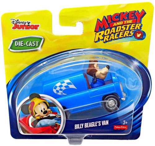 Fisher Price Disney Mickey & Roadster Racers Billy Beagle's Van Diecast Vehicle