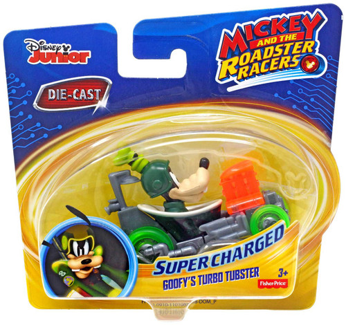 Fisher Price Disney Mickey & Roadster Racers Goofy's Turbo Tubster Diecast Vehicle [2020]