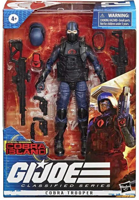 GI Joe Special Missions: Cobra Island Classified Series Cobra Trooper Exclusive Action Figure
