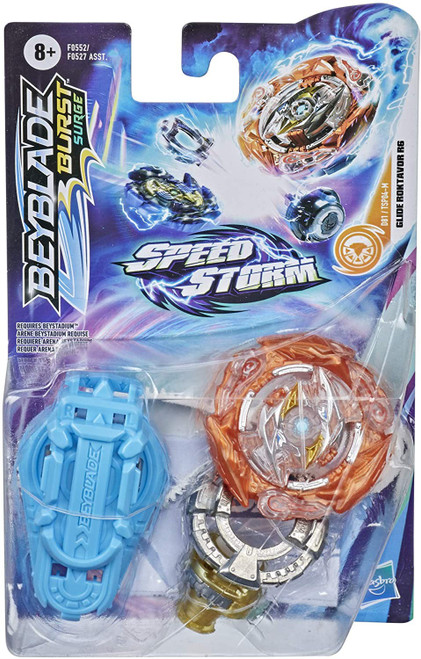 Beyblade Burst Rise Speedstorm Glid Roktavor R6 Starter Pack