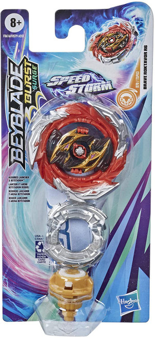Beyblade Burst Rise Speedstorm Brave Roktavor R6 Single Top (Pre-Order ships January)