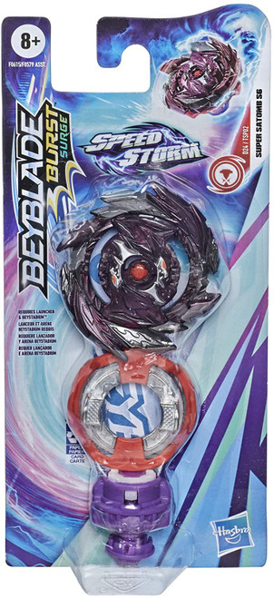 Beyblade Burst Rise Speedstorm Super Satomb S6 Single Top (Pre-Order ships January)