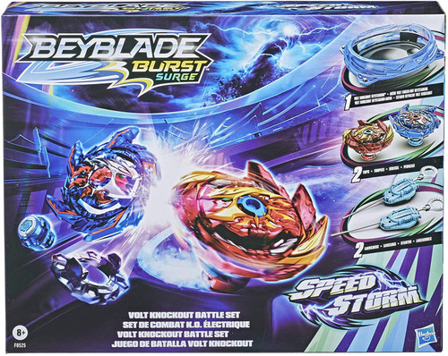 Beyblade Burst Rise Hypersphere Volt Knockout Battle Set (Pre-Order ships January)
