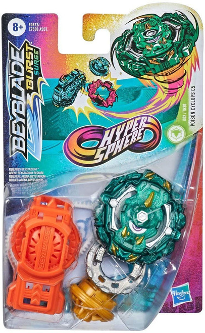 Beyblade Burst Rise Hypersphere Poison Cyclops C5 Starter Pack (Pre-Order ships January)