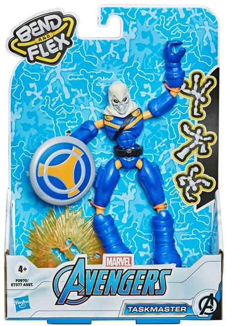 Marvel Avengers Bend & Flex Taskmaster Action Figure [2021]