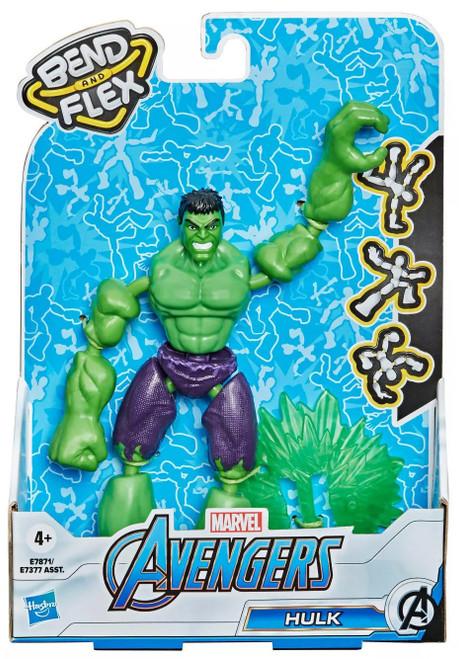 Marvel Avengers Bend & Flex Hulk Action Figure [2021] (Pre-Order ships January)