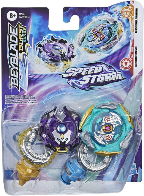 Beyblade Burst Rise Speedstorm GLIDE DULLAHAN AND MINIBOROS Dual Pack (Pre-Order ships January)