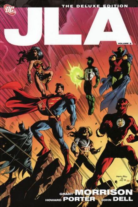 DC Comics JLA Deluxe Edition Hardcover #3