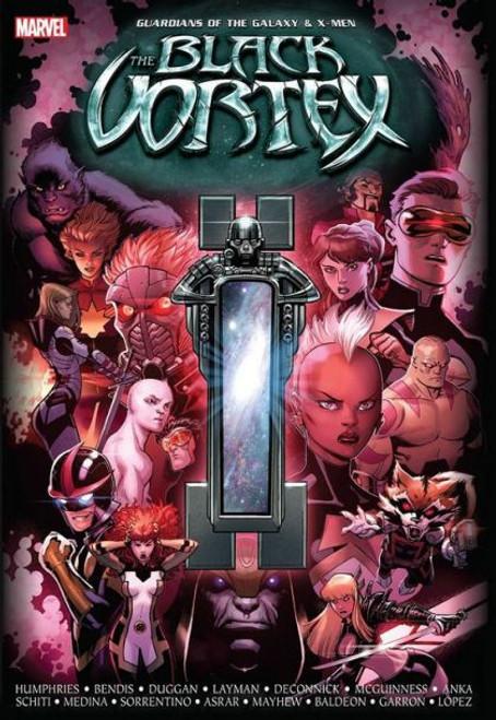 Marvel Guardians of the Galaxy & X-Men Black Vortex Hardcover