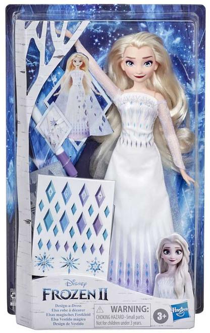 Disney Frozen 2 Design a Dress Elsa Doll (Pre-Order ships June)