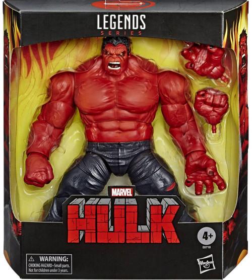 Marvel Legends Red Hulk Exclusive Deluxe Action Figure