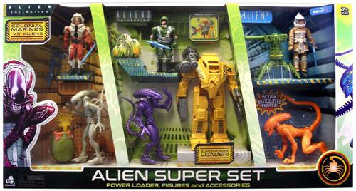Alien Collection Colonial Marines 'VS' Aliens Alien Super Set Exclusive
