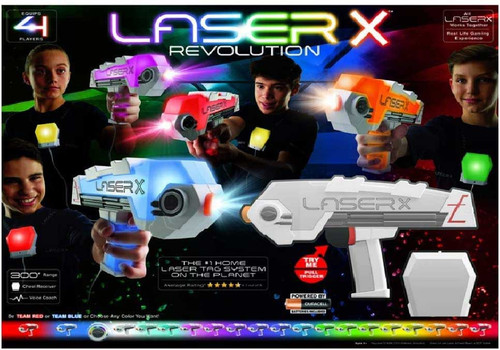 Laser X Revolution Exclusive 4-Player Set