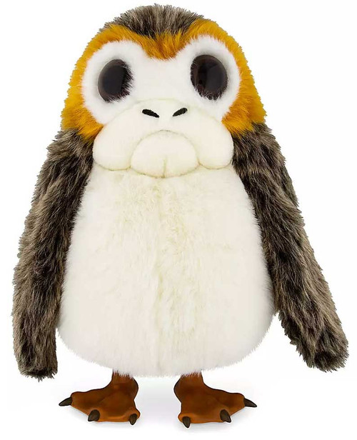 Disney Star Wars Galaxy's Edge Porg Exclusive 12.5-Inch Plush Puppet with Sound