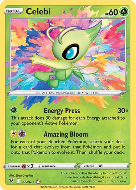 Pokemon Vivid Voltage Amazing Rare Celebi #9