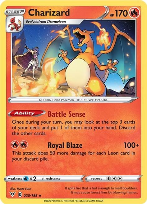 Pokemon Vivid Voltage Rare Charizard #25