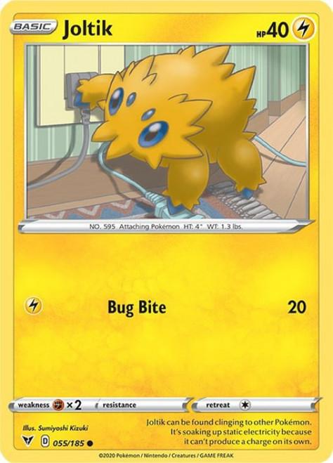 Pokemon Vivid Voltage Common Joltik #55