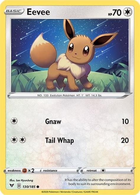 Pokemon Vivid Voltage Common Eevee #130