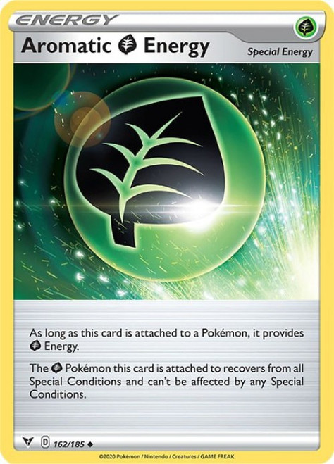 Pokemon Vivid Voltage Uncommon Aromatic Grass Energy #162