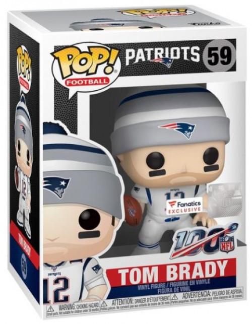 Funko NFL New England Patriots POP! Sports Football Tom Brady Exclusive Vinyl Figure #59