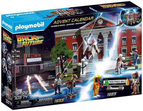 Playmobil Advent Calendar Back to the Future Set #70574