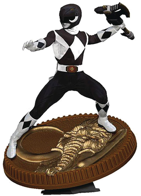Power Rangers Mighty Morphin Black Ranger 7-Inch Statue (Pre-Order ships April)