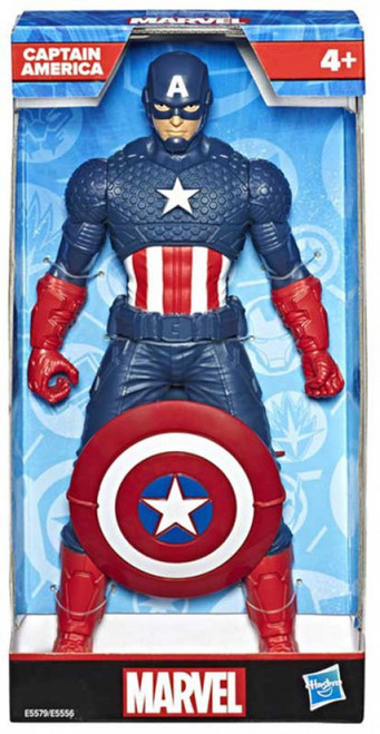 Marvel Captain America Action Figure [9.5 Inch] (Pre-Order ships January)