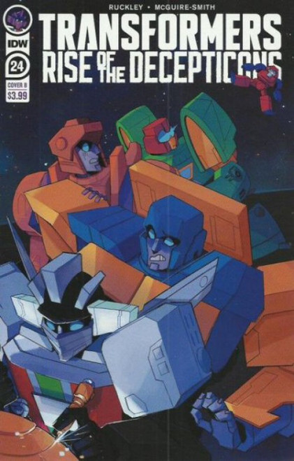 IDW Publishing Transformers #24B Rise of the Decepticons Comic Book