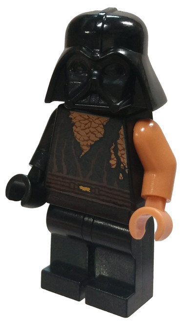 LEGO Star Wars Anakin Skywalker Minifigure [Battle Damaged with Darth Vader Helmet Loose]