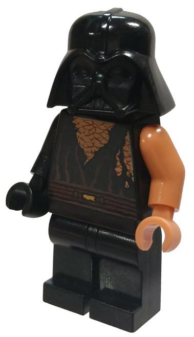 LEGO Star Wars Anakin Skywalker Minifigure [Battle Damaged with Darth Vader Helmet Loose]