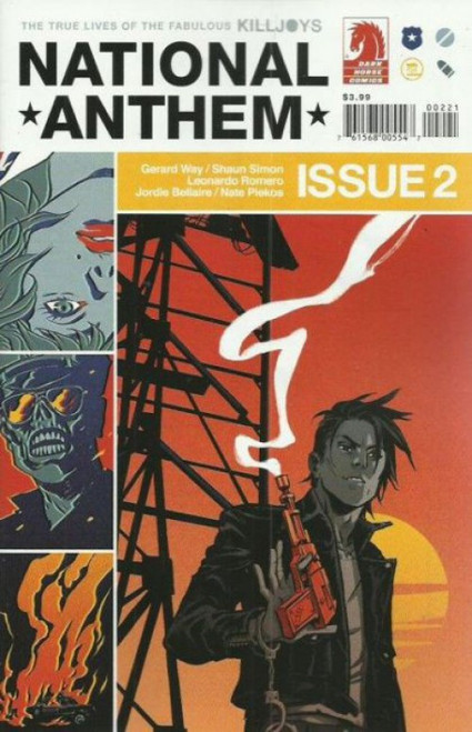 Dark Horse Comics True Lives Fabulous Killjoys: National Anthem #2B Comic Book