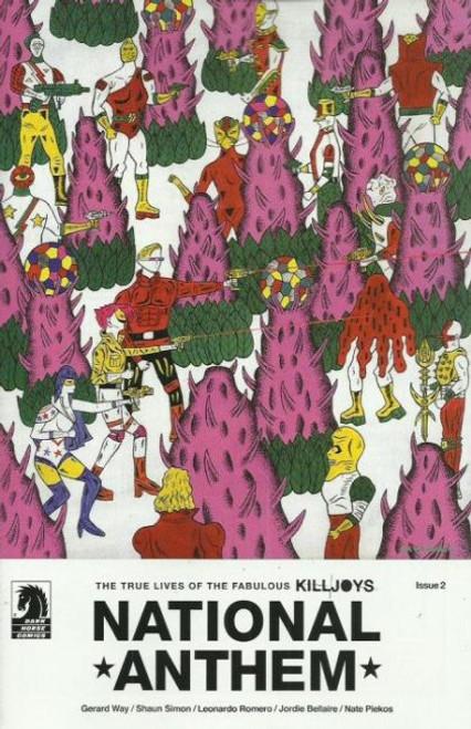 Dark Horse Comics True Lives Fabulous Killjoys: National Anthem #2C Comic Book
