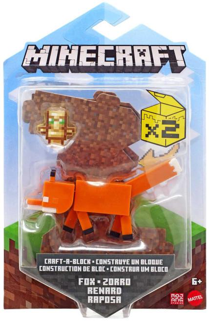Minecraft Craft-A-Block Fox Action Figure