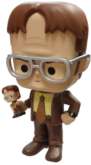 Funko The Office Dwight Schrute (Bobblehead) 1/12 Mystery Minifigure [Loose]