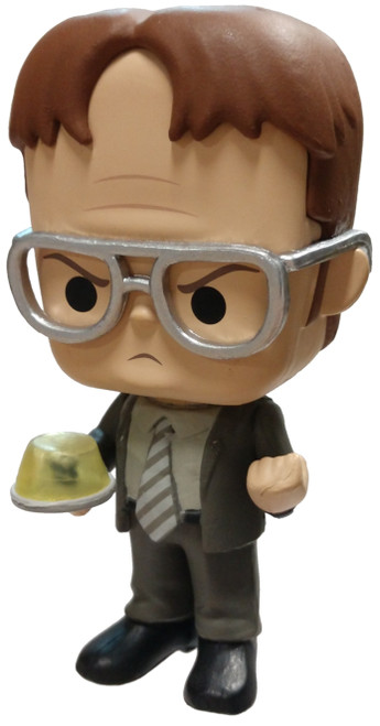 Funko The Office Dwight Schrute (Jell-O Stapler) 1/6 Mystery Minifigure [Loose]